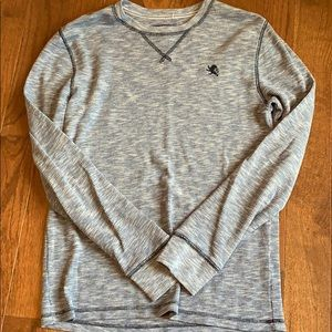 Men's Express Waffle long-sleeve shirt, Medium